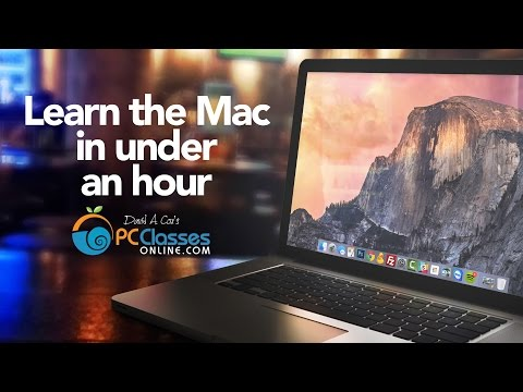 Learn the Mac In Under An Hour
