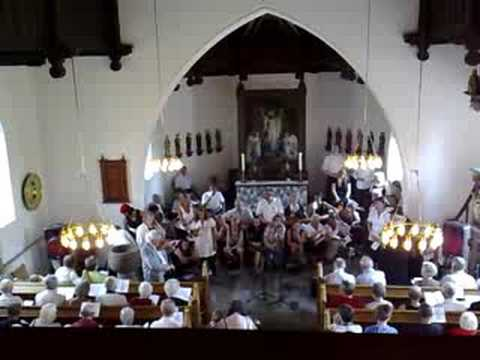 ArtTalentsCom : Uldum gadefestival In church with Anker Buch