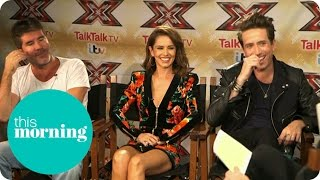 Rylan Interviews X Factor Judges Simon Cowell and Cheryl Fernandez-Versini | This Morning