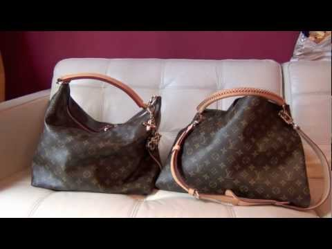 Louis Vuitton Comparison Artsy MM vs Sully MM