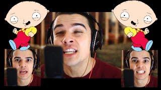 """Pitbull ft. Ke$ha - """"TIMBER"""" (Sung in FAMILY GUY Voices)"""