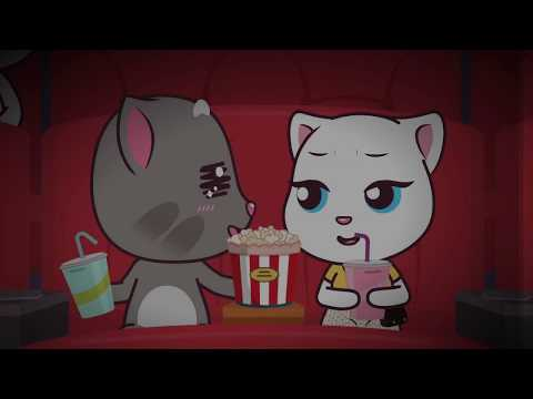 Talking Tom and Friends Minis - The Movie Kiss (Episode 36)