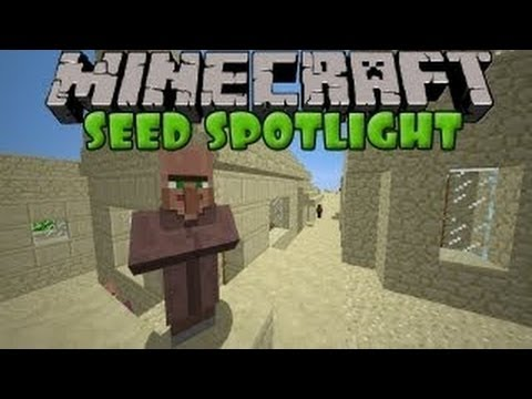 Minecraft: AMAZING SEED! 4 TEMPLES, 7 VILLAGES & MORE!