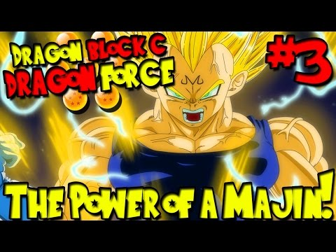 Dragon Block C: Dragonforce (Minecraft Public Server) - Episode 3   THE POWER OF A MAJIN!