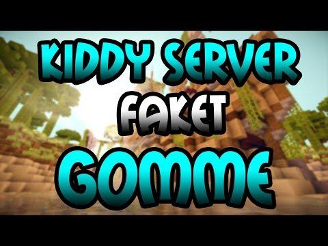 KIDDY SERVER faket GOMME? - Minecraft Server Vorstellung 1.8 | Deutsch/German