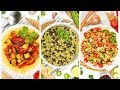 3 Easy Vegan Recipes | Healthy Meal Plans 2020