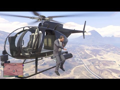 SO MANY FAILS!! GTAV (CHAOS)