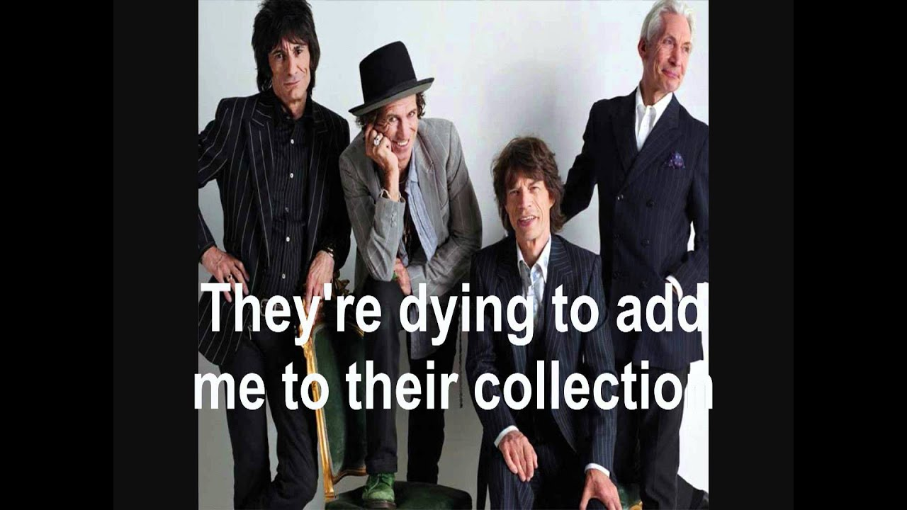 The rolling stones quot connection quot with lyrics on screen youtube