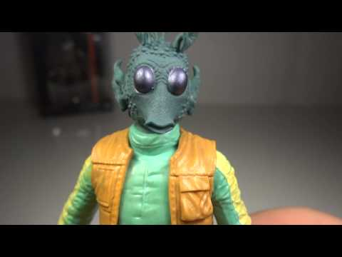 Star Wars Black Series 6 inch Greedo Toy Review