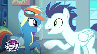 'Fastest and Thrilling Ride Ever!' ⚡ Official Clip   MLP: Friendship is Magic Season 8