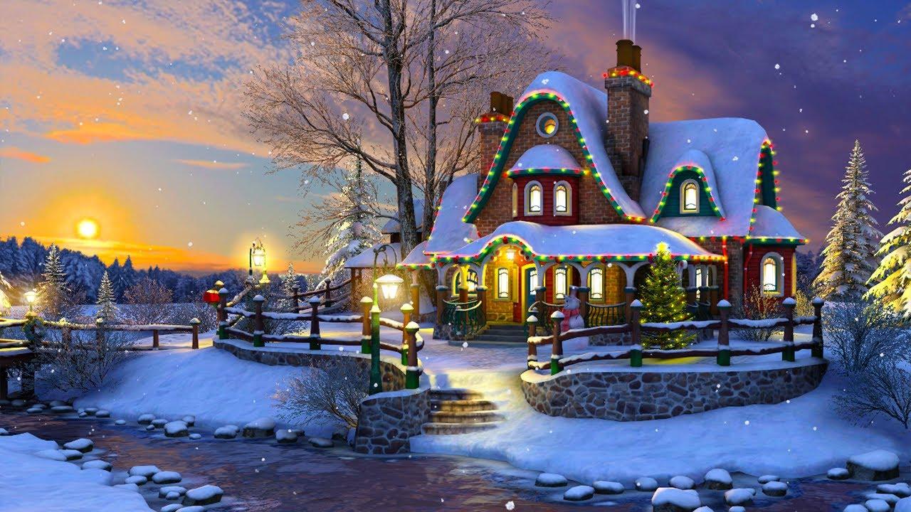 White Christmas 3D Screensaver - YouTube