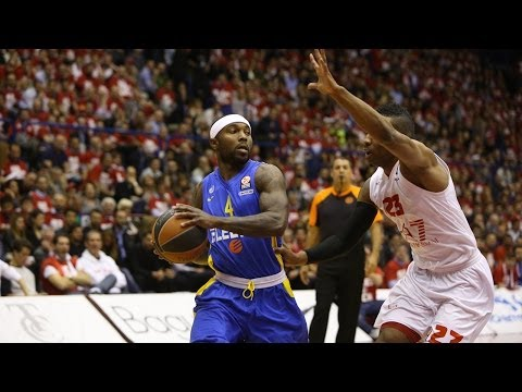 Highlights: EA7 Emporio Armani Milan-Maccabi Electra Tel Aviv, Playoffs Game 1