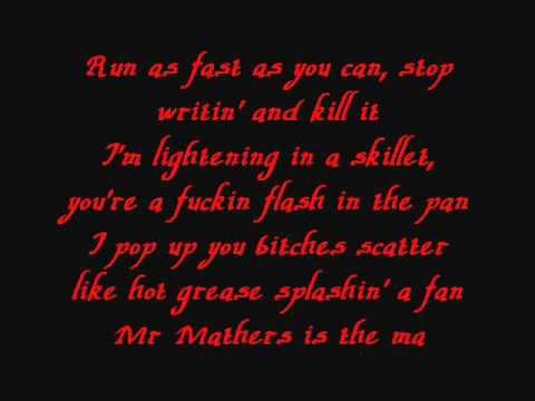 Eminem - On Fire Lyrics