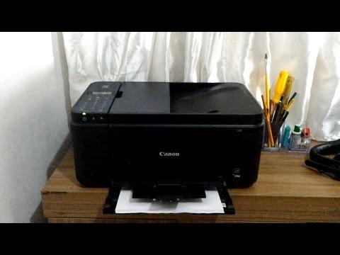 Impressora Canon PIXMA E481 - Review