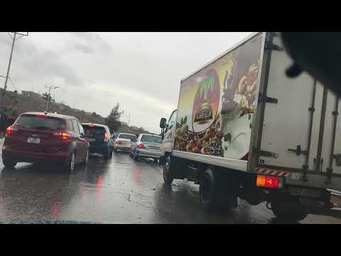 حادث سير رهيب على طريق عمان - اربد اثناء رحلتي ليوم 17/2/2018 thumbnail