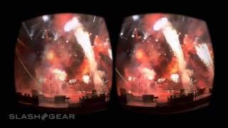 Paul McCartney Google Cardboard Jaunt VR demo