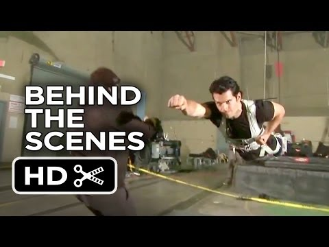 Man Of Steel Behind The Scenes - Fights (2013) - Superman Movie HD