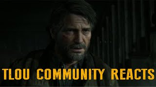 THE LAST OF US  PART 2 JOEL TRAILER! State of play Sept 2019 Reaction! 0:48:41