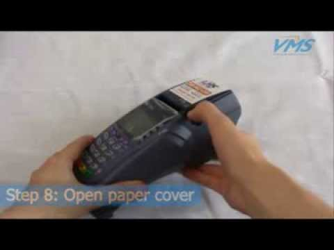 Getting Started With Your VeriFone Vx510 Credit Card Machine