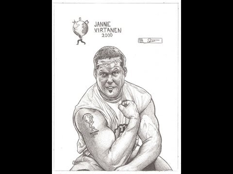 Janne Virtanen Word's Strongest Man A Dredfunn Original