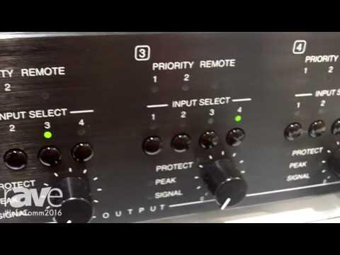 InfoComm 2016: TOA Electronics Launches MA-725F Digital Matrix Amplifier