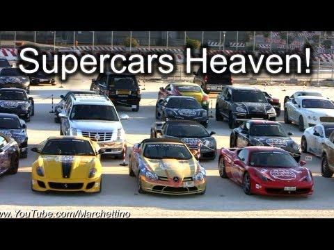 Gumball 3000 2011 – Supercars Lineup Walkaround