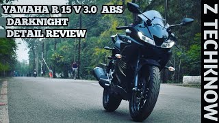 Yamaha R15 V 3.0 ABS  Darknight 2019 Edition Detail Review | Mileage | Price | VVA |Hindi Z Techknow