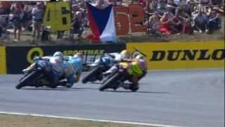 Last lap 125cc Czech GP 2007