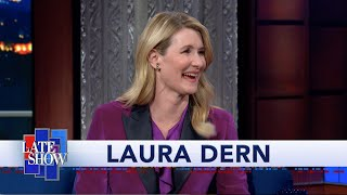 Laura Dern On Baby Yoda: I Don't Mind Being The Taller One