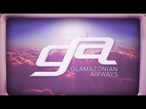 Glamazonian Airways (With Lyrics)
