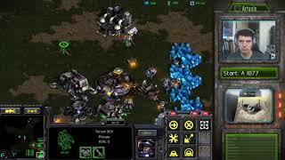 StarCraft Remastered 1v1 (FPVOD) Artosis (T) vs A Barcode (Z) Fighting Spirit