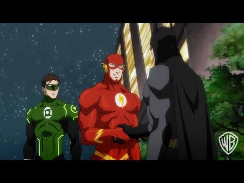 Justice League: War - batman's Real? video