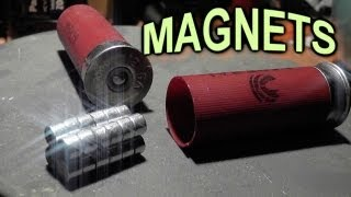 NEODYMIUM MAGNETS - Shot from a GUN - Fantasy Ammo