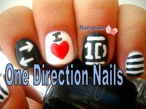 One Direction Nails - Uñas