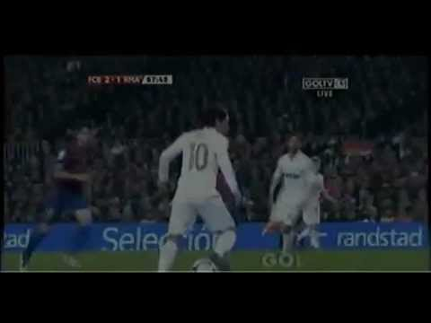 Cristiano Ronaldo Goal vs Barcelona Copa Clasico Second leg (25 January 2012)