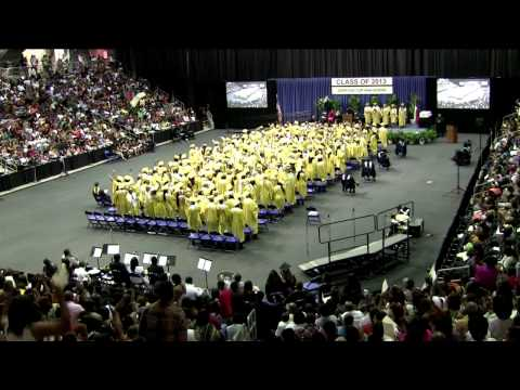 South Oak Cliff High School Graduation 2013