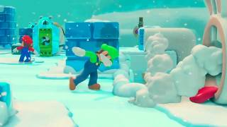 Luigi Dabs in Mario + Rabbids Kingdom Battle