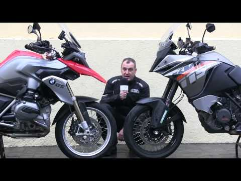 Motosx1000: KTM 1190 Adventure Vs. BMW R1200GS