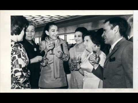Maria Callas in Moscow 1970 / archival photos