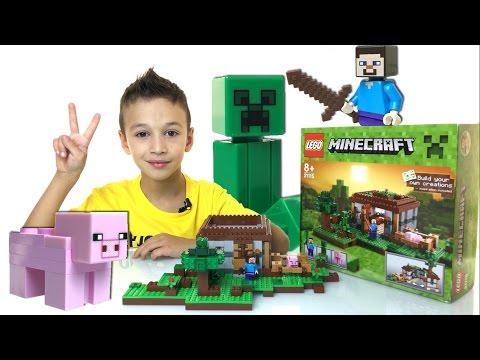 Лего Майнкрафт Первая Ночь 21115 LEGO Minecraft First Night