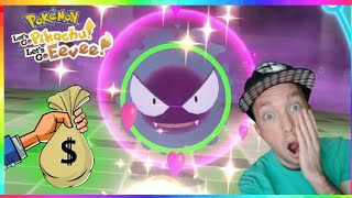 ULTIMATE SHINY GASTLY HUNT in Pokemon Let's Go Pikachu and Eevee! $300 DONATIONS!?
