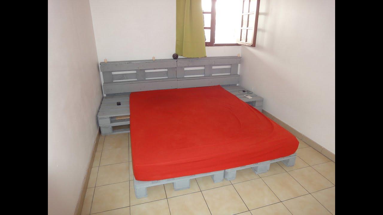 Instrucciones de como hacer una cama con palets youtube - Como hacer sillon de palets ...
