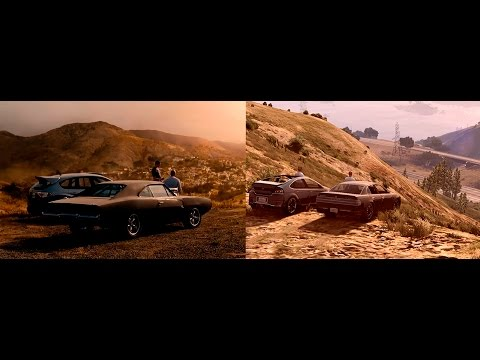 See You Again - Comparation Original and GTA V Version