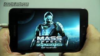 MASS EFFECT INFILTRATOR Android Gameplay Samsung Galaxy Note Games