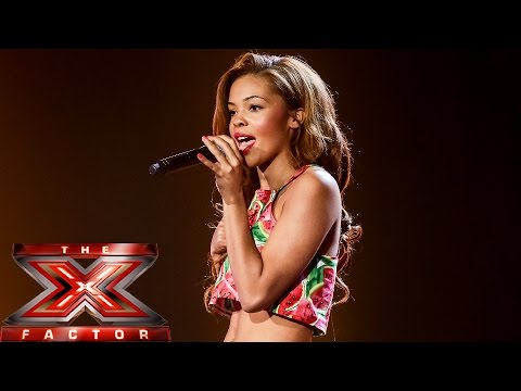 Stephanie Nala sings Chris Isaak's Wicked Game   Boot Camp   The X Factor UK 2014