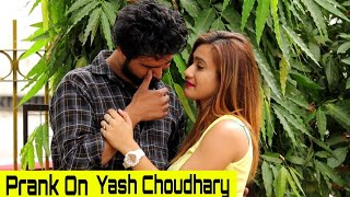 Surprising Prank On Yash Choudhary | Rits Dhawan