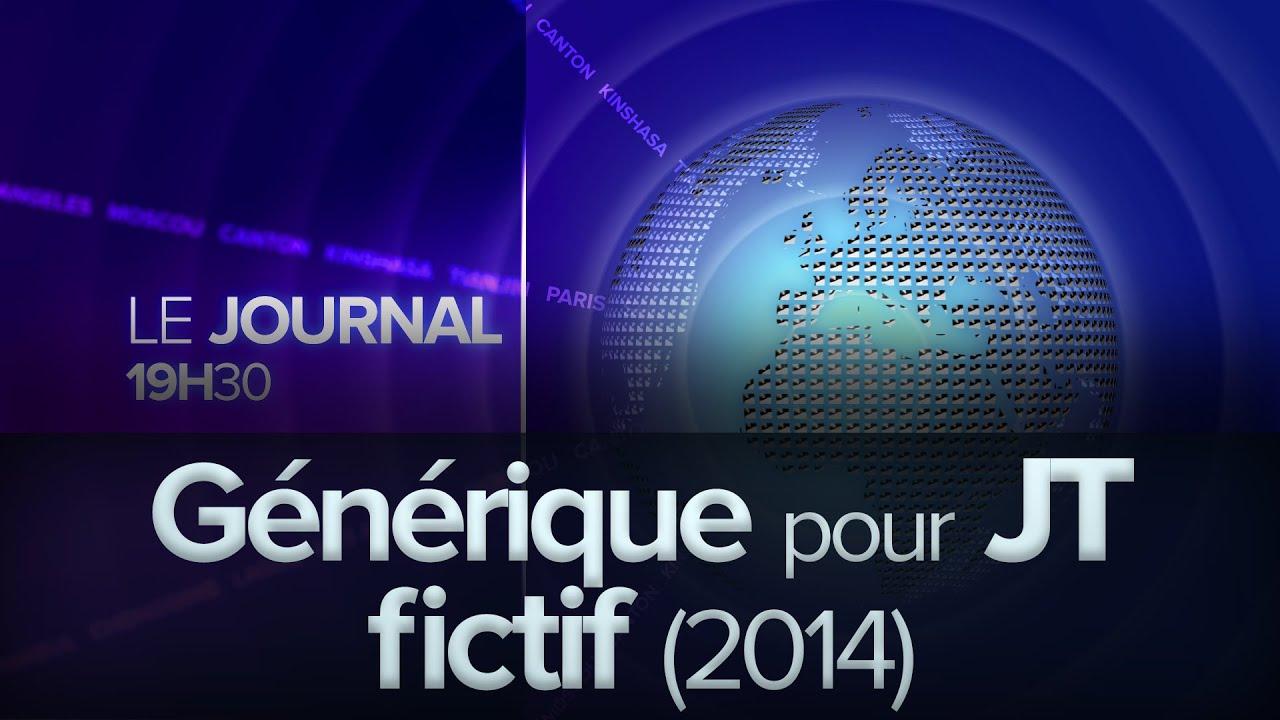 G n rique pour journal t l vis fictif 2014 youtube for Le journal du pays d auge