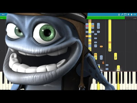 IMPOSSIBLE REMIX - Crazy Frog - Axel F - Piano Cover
