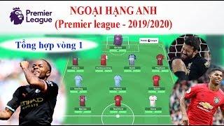 Ngoại hạng Anh mùa giải 2019/2020: Diễn biến - Kết quả vòng 1 [Soccer đam mê]