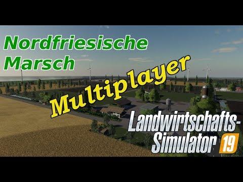 LS19 #4 #Multiplayer #Die Tiere müssen mehr werden #Nordfriesische Marsch V1 #Facecam #Webcam